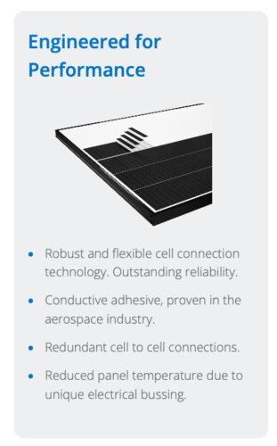 Sunpower Performance engineered for performance